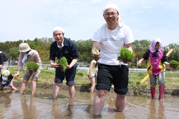 香り米プロジェクト 高木さんと佐藤さん
