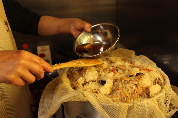 香り米プロジェクト 手作りおこわ