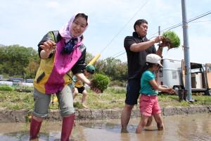 香り米プロジェクト 女性