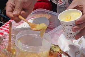 香り米プロジェクト 手作りハチミツレモンサワー