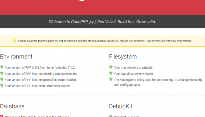 エックスサーバでcygwinを使ってcakephp3の環境構築